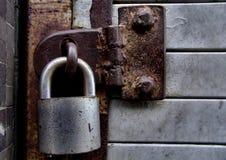 锁着 免版税库存照片