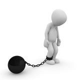 锁链 免版税库存图片