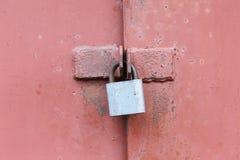 锁门锁 图库摄影
