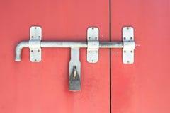 锁门 免版税库存照片