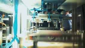 锂离子电池的生产 股票视频