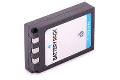 黑锂离子电池组装(裁减路线) 图库摄影