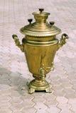 锅炉采煤金热化俄国式茶炊 库存照片