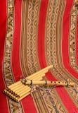 锅管和长笛从南美 免版税库存图片