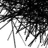 锋利之字形排行单色纹理,样式 任意线geo 库存例证