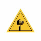 锋利的元素标志传染媒介设计 库存例证