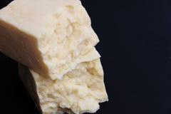锋利的切达干酪 免版税库存图片