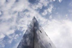 锋利的点-大厦建筑学 免版税库存照片