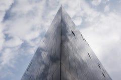 锋利的点-大厦建筑学 库存照片