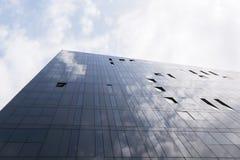 锋利的点-大厦建筑学 免版税库存图片