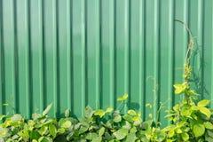 锌墙壁 免版税库存图片