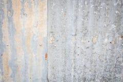 锌墙壁 库存图片