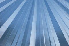 锌屋顶背景 免版税库存照片