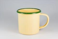 锌杯子 免版税库存照片