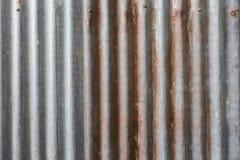 锌板料铁锈纹理 免版税库存照片