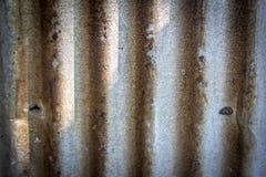 锌纹理锌纹理铁锈样式 免版税库存照片
