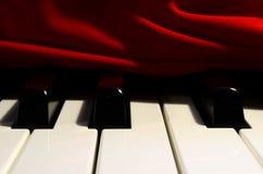锐利穿戴的钢琴 库存照片