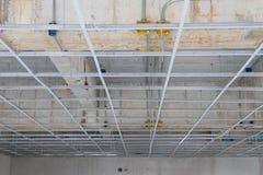 错误天花板的设施 免版税库存图片