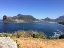 错误海湾在开普敦南非外面 免版税库存图片