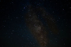 错误颜色银河 免版税库存照片