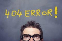 404错误 免版税图库摄影