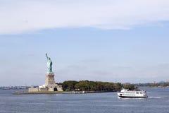 错过自由雕象在纽约 免版税库存照片