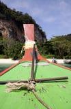 锚点krabi longtail泰国 免版税库存照片