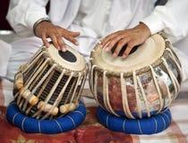 锡克教徒的仪器鼓 免版税库存照片