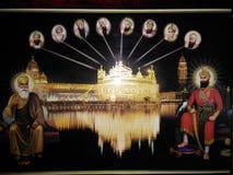 锡克教徒的宗师 库存照片