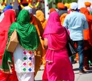 锡克教徒的宗教的妇女 库存图片
