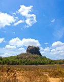 锡吉里耶岩石堡垒 库存图片