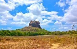 锡吉里耶岩石堡垒 免版税图库摄影