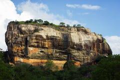 锡吉里耶狮子岩石堡垒 免版税库存照片