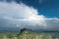 锡吉里耶狮子岩石 库存图片