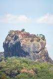 锡吉里耶狮子的岩石,斯里兰卡 库存图片