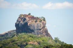 锡吉里耶狮子的岩石,斯里兰卡 图库摄影