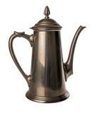 锡咖啡壶  库存图片