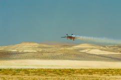 锡夫里希萨尔,埃斯基谢希尔,土耳其- 2017年9月17日:锡夫里希萨尔Airshows (SHG),在SUSHM显示的小航空事件 免版税库存图片