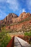 锡安国家公园犹他,美国 免版税图库摄影