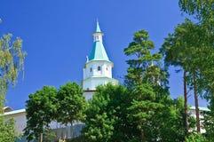 锡安塔 巨大修道院murom俄国 2007第23个耶路撒冷6月修道院新的俄国 免版税库存照片