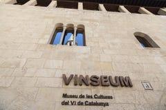 锡德自由镇del Penedes,卡塔龙尼亚,西班牙 免版税图库摄影