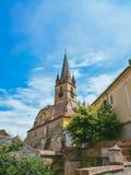 锡比乌路德教会大教堂 库存照片