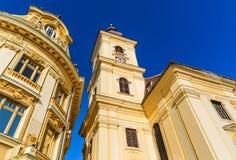 锡比乌,特兰西瓦尼亚,罗马尼亚 免版税库存照片