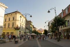 锡比乌,罗马尼亚 库存照片