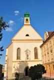 锡比乌Ursuline教会 免版税库存图片