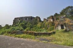 锡永小丘堡垒在孟买,印度 库存照片