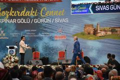 锡瓦斯天2017年Ä°stanbul,土耳其 免版税库存照片