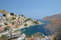 锡米岛 希腊 库存照片