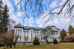 锡纳亚,罗马尼亚- 3月14 :2016年3月14日的锡纳亚在锡纳亚, 免版税库存照片