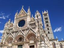 锡耶纳大教堂。 免版税库存图片
